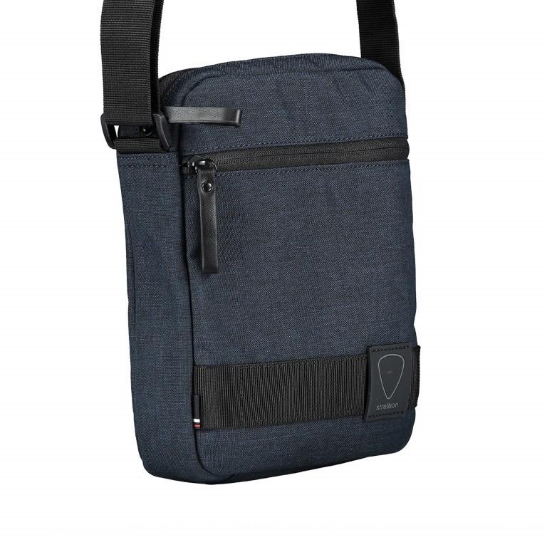 Umhängetasche Northwood Shoulderbag XSVZ Dark Blue, Farbe: blau/petrol, Marke: Strellson, EAN: 4053533808410, Abmessungen in cm: 22.0x25.0x5.0, Bild 2 von 7