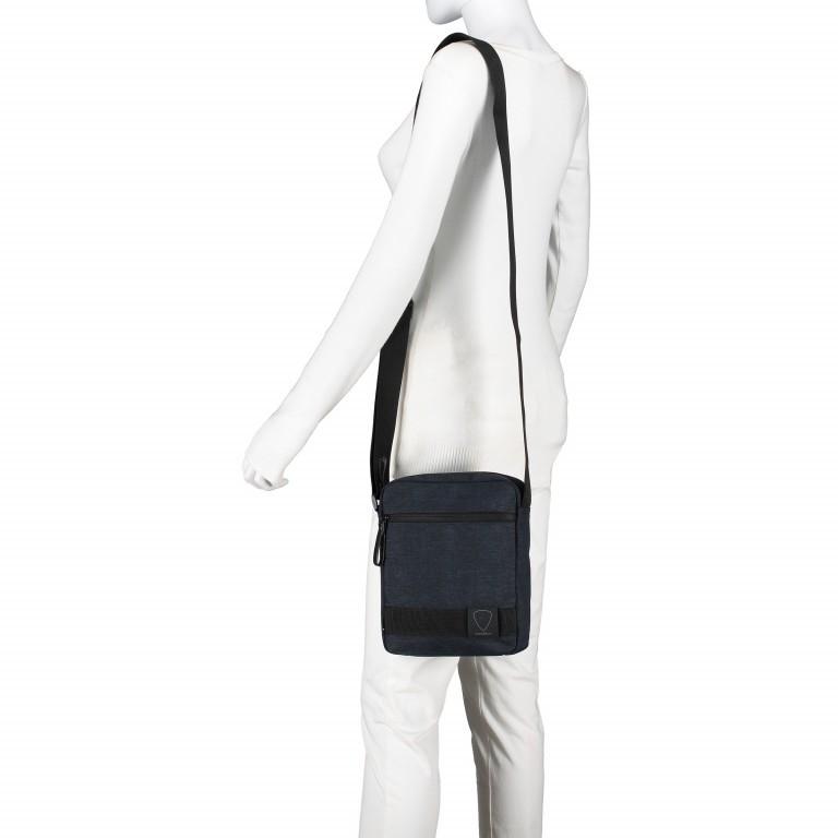 Umhängetasche Northwood Shoulderbag XSVZ Dark Blue, Farbe: blau/petrol, Marke: Strellson, EAN: 4053533808410, Abmessungen in cm: 22.0x25.0x5.0, Bild 5 von 7