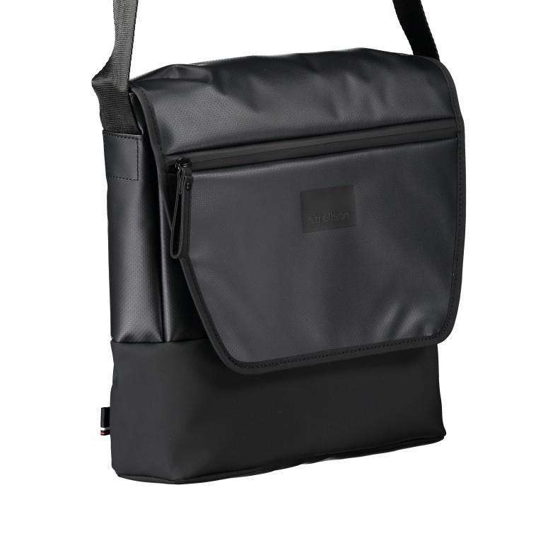 Umhängetasche Stockwell Shoulderbag MVF Black, Farbe: schwarz, Marke: Strellson, EAN: 4053533600274, Abmessungen in cm: 27.0x29.0x9.0, Bild 2 von 7