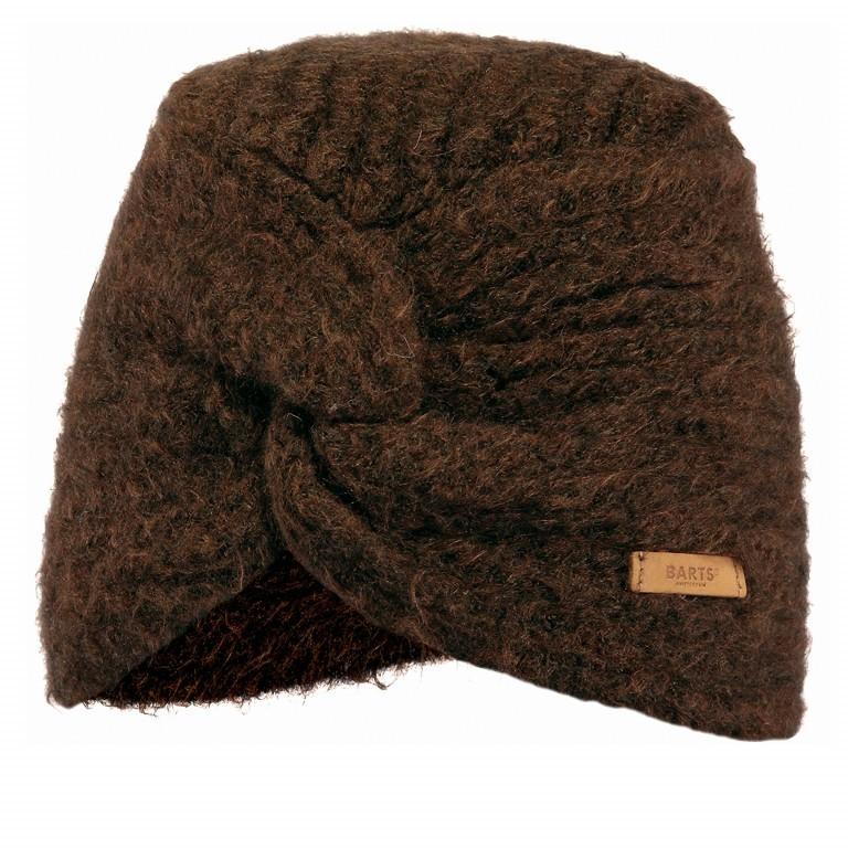 Mütze Witzia Turban Brown, Farbe: braun, Marke: Barts, EAN: 8717457651915, Bild 1 von 1