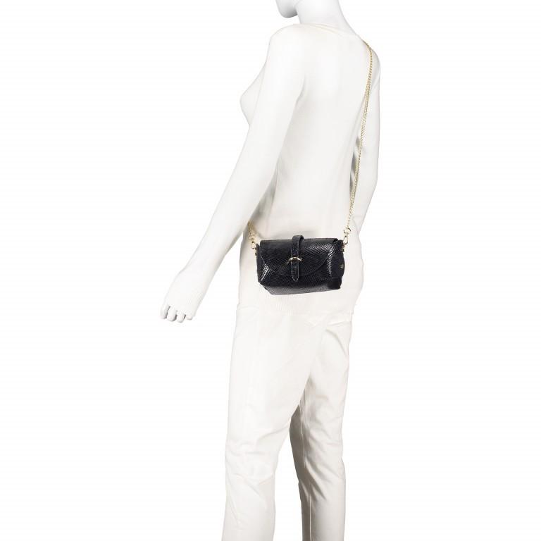 Umhängetasche Snake mit Schulterkette Grau, Farbe: grau, Marke: Hausfelder, EAN: 4065646001244, Abmessungen in cm: 15.0x11.0x8.0, Bild 4 von 8