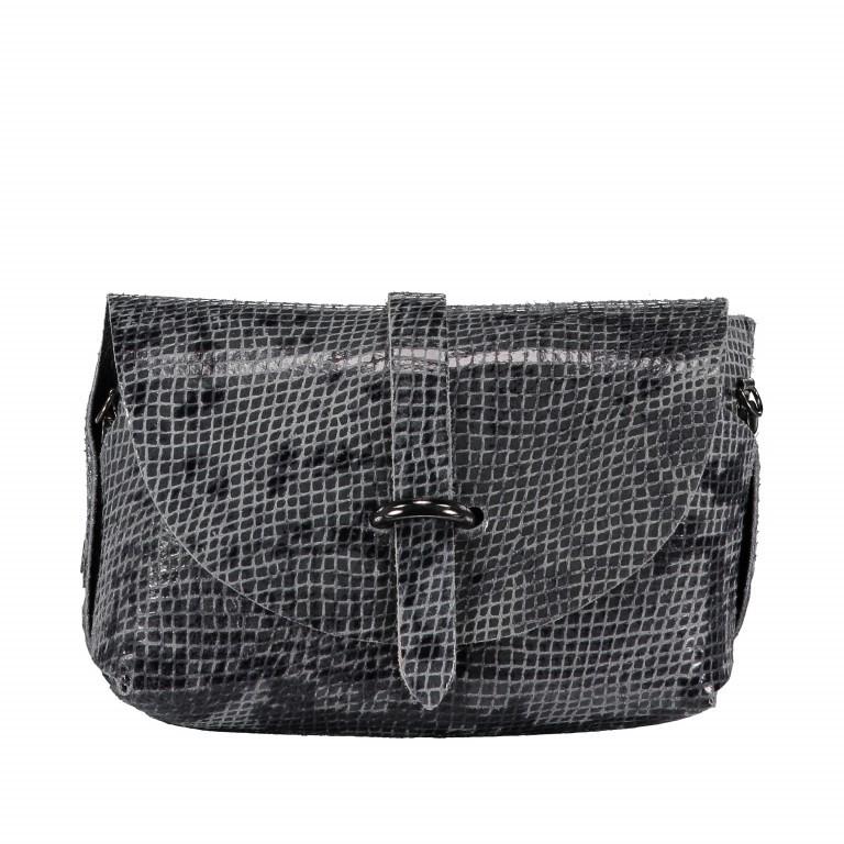 Umhängetasche Snake mit Schulterkette Grau, Farbe: grau, Marke: Hausfelder, EAN: 4065646001244, Abmessungen in cm: 15.0x11.0x8.0, Bild 8 von 8