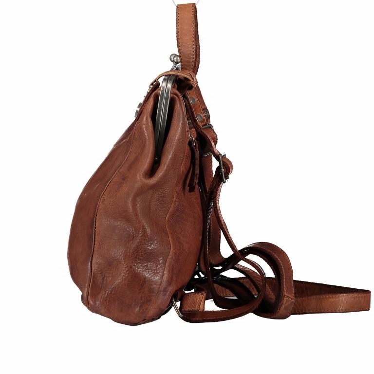 Rucksack Anchor-Love Anouk B3.9290 Charming Cognac, Farbe: cognac, Marke: Harbour 2nd, EAN: 4046478042193, Abmessungen in cm: 22.0x27.0x9.0, Bild 3 von 8