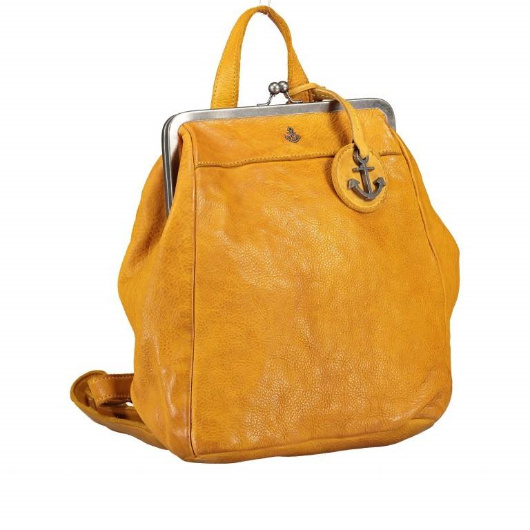 Rucksack Anchor-Love Anouk B3.9290 Oriental Mustard, Farbe: gelb, Marke: Harbour 2nd, EAN: 4046478042230, Abmessungen in cm: 22.0x27.0x9.0, Bild 2 von 8