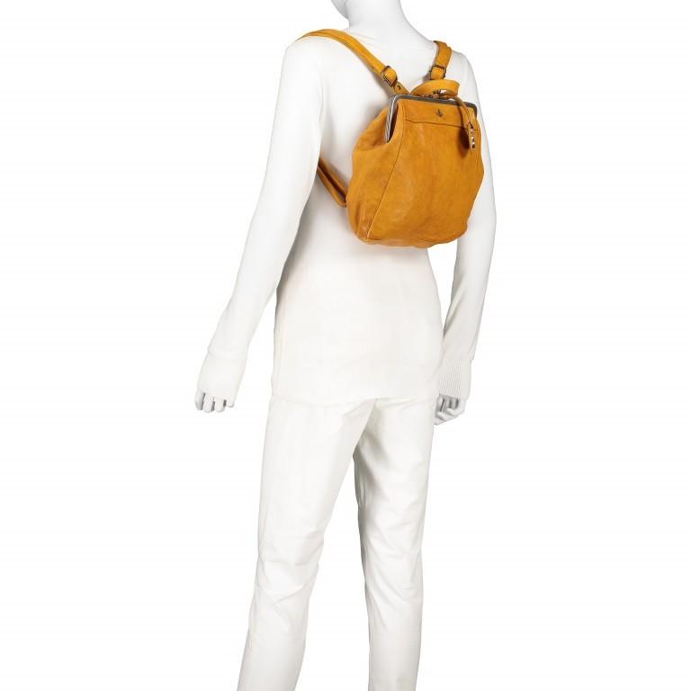 Rucksack Anchor-Love Anouk B3.9290 Oriental Mustard, Farbe: gelb, Marke: Harbour 2nd, EAN: 4046478042230, Abmessungen in cm: 22.0x27.0x9.0, Bild 6 von 8