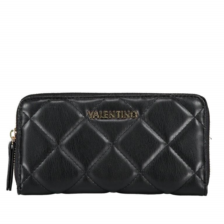 Geldbörse Ocarina Nero, Farbe: schwarz, Marke: Valentino Bags, EAN: 8052790912157, Abmessungen in cm: 19.0x10.0x2.0, Bild 1 von 3