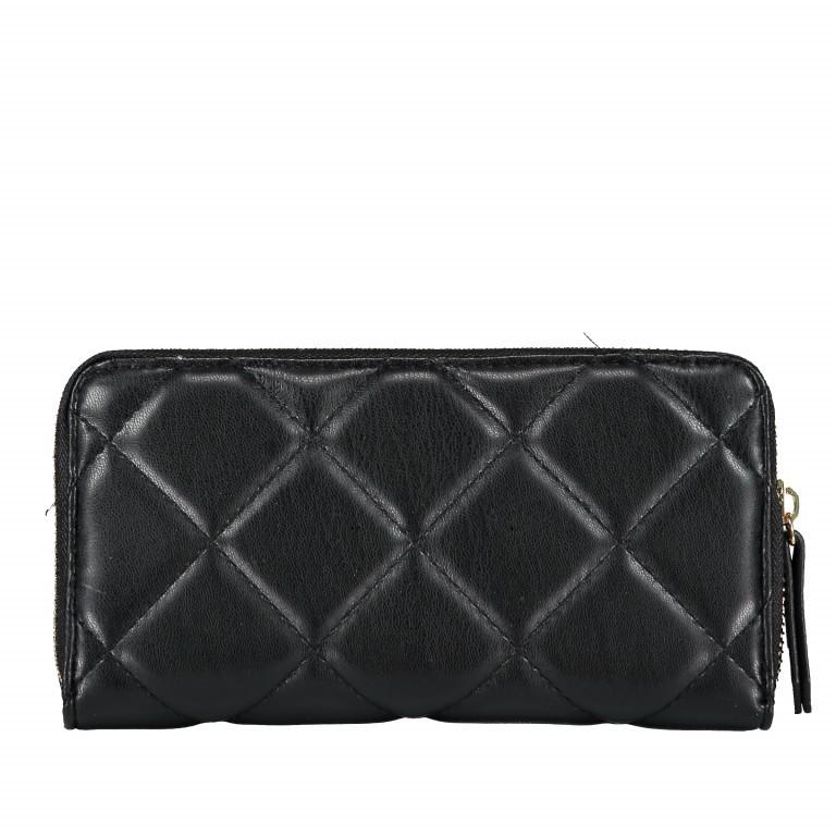 Geldbörse Ocarina Nero, Farbe: schwarz, Marke: Valentino Bags, EAN: 8052790912157, Abmessungen in cm: 19.0x10.0x2.0, Bild 2 von 3