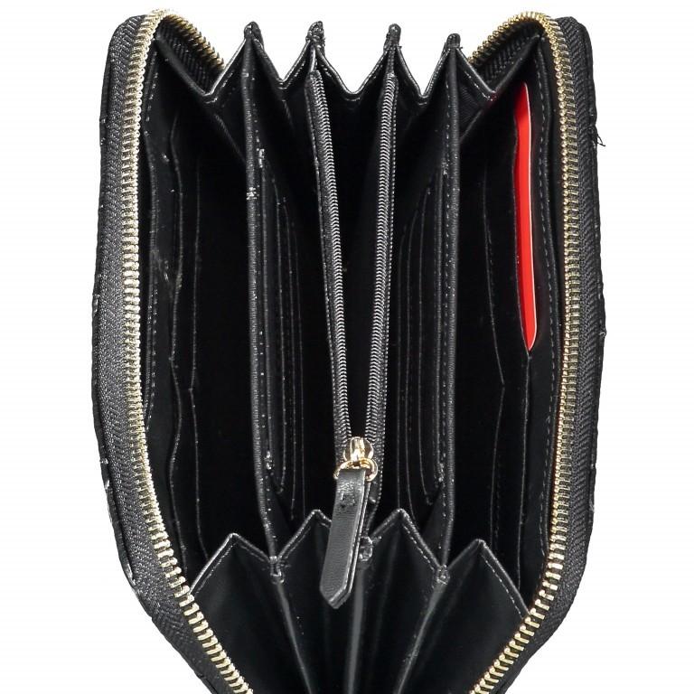 Geldbörse Ocarina Nero, Farbe: schwarz, Marke: Valentino Bags, EAN: 8052790912157, Abmessungen in cm: 19.0x10.0x2.0, Bild 3 von 3
