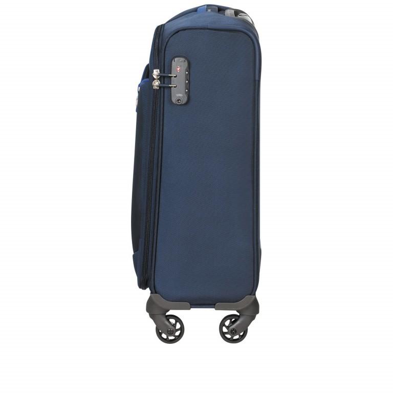Koffer Adair Spinner 55 Dark Blue, Farbe: blau/petrol, Marke: Samsonite, EAN: 5414847934452, Abmessungen in cm: 40.0x55.0x20.0, Bild 3 von 7