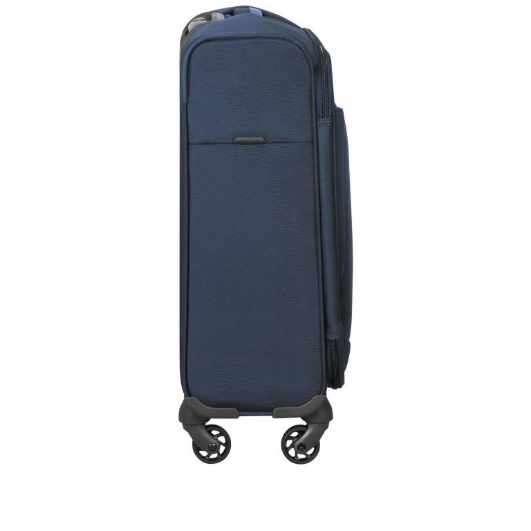 Koffer Adair Spinner 55 Dark Blue, Farbe: blau/petrol, Marke: Samsonite, EAN: 5414847934452, Abmessungen in cm: 40.0x55.0x20.0, Bild 4 von 7