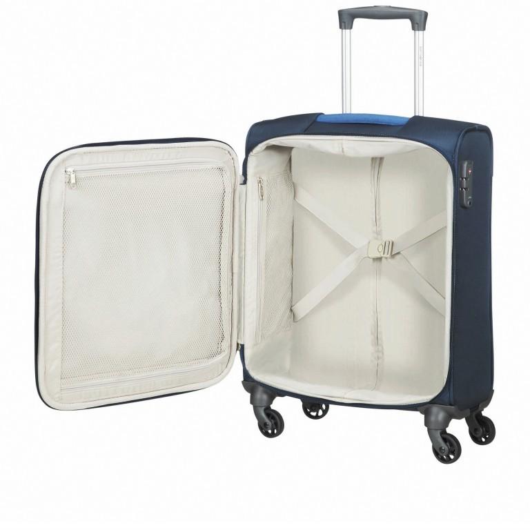 Koffer Adair Spinner 55 Dark Blue, Farbe: blau/petrol, Marke: Samsonite, EAN: 5414847934452, Abmessungen in cm: 40.0x55.0x20.0, Bild 6 von 7
