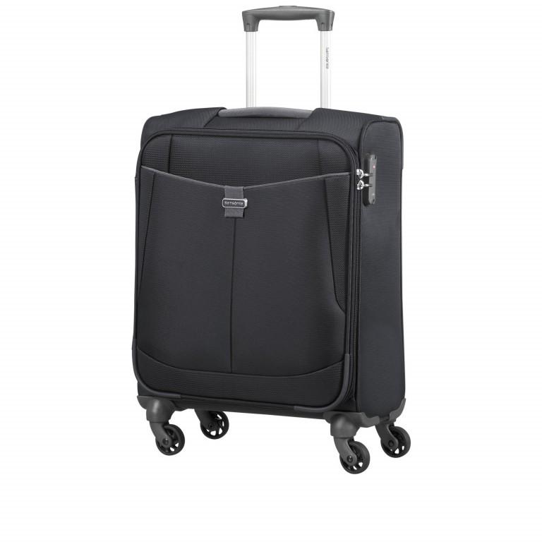 Koffer Adair Spinner 55 Black, Farbe: schwarz, Marke: Samsonite, EAN: 5414847934438, Abmessungen in cm: 40.0x55.0x20.0, Bild 2 von 7