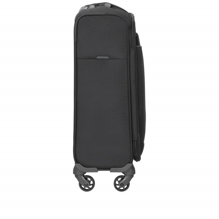 Koffer Adair Spinner 55 Black, Farbe: schwarz, Marke: Samsonite, EAN: 5414847934438, Abmessungen in cm: 40.0x55.0x20.0, Bild 4 von 7