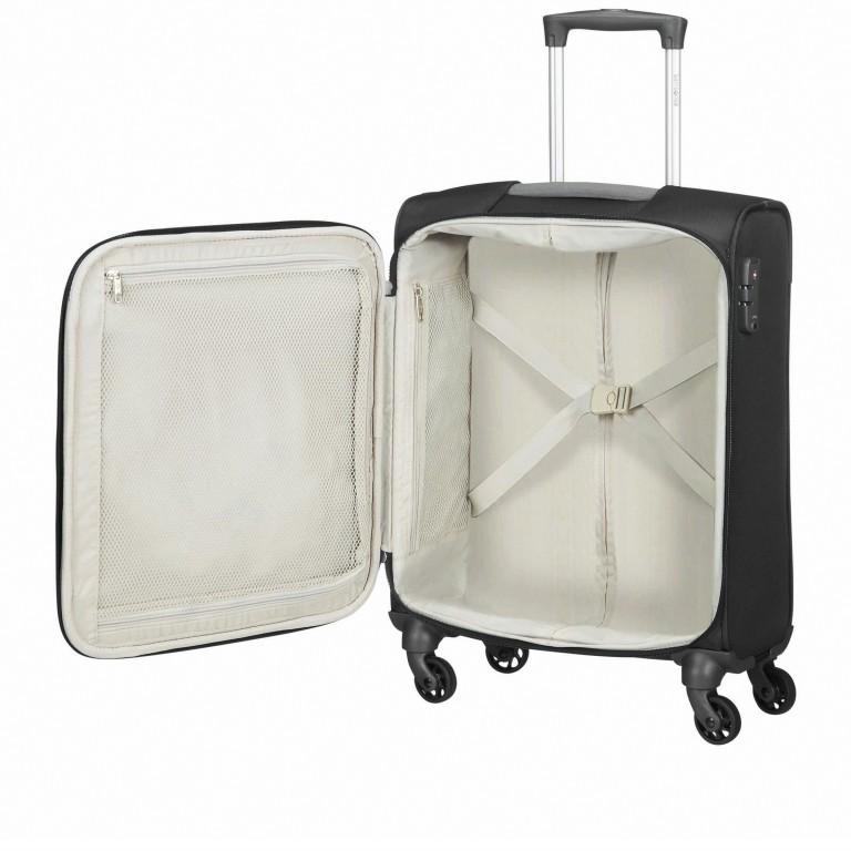 Koffer Adair Spinner 55 Black, Farbe: schwarz, Marke: Samsonite, EAN: 5414847934438, Abmessungen in cm: 40.0x55.0x20.0, Bild 6 von 7