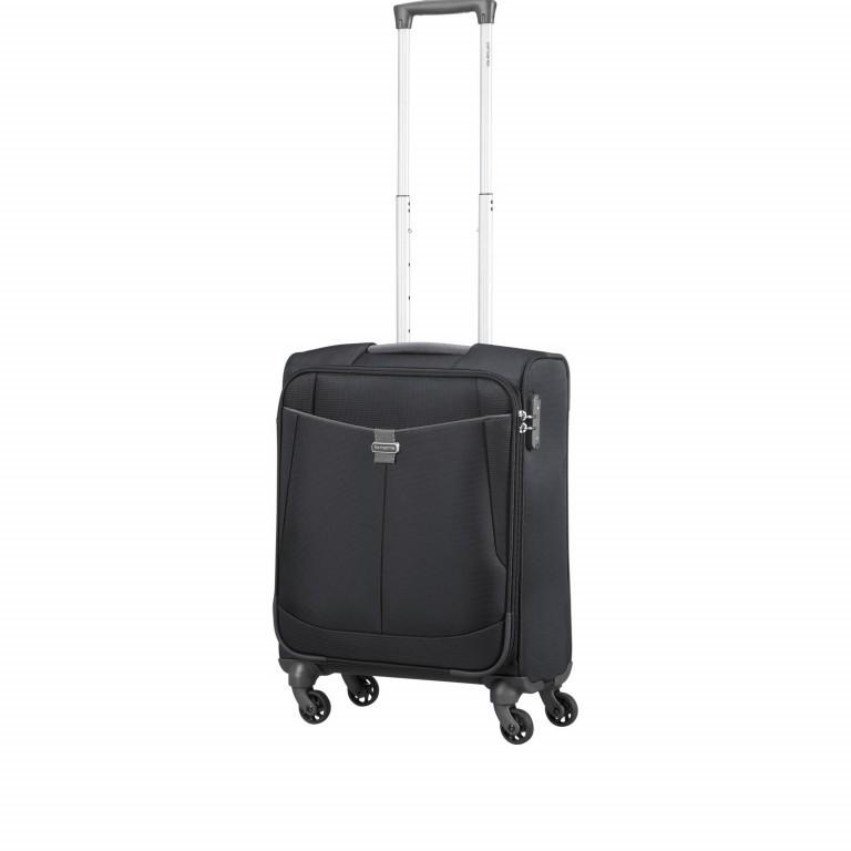 Koffer Adair Spinner 55 Black, Farbe: schwarz, Marke: Samsonite, EAN: 5414847934438, Abmessungen in cm: 40.0x55.0x20.0, Bild 7 von 7