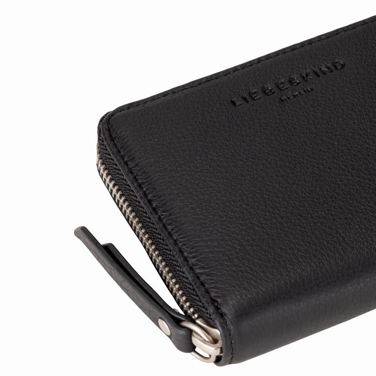Geldbörse Basic Conny Black, Farbe: schwarz, Marke: Liebeskind Berlin, EAN: 4058629127109, Abmessungen in cm: 12.5x10.0x2.0, Bild 4 von 4