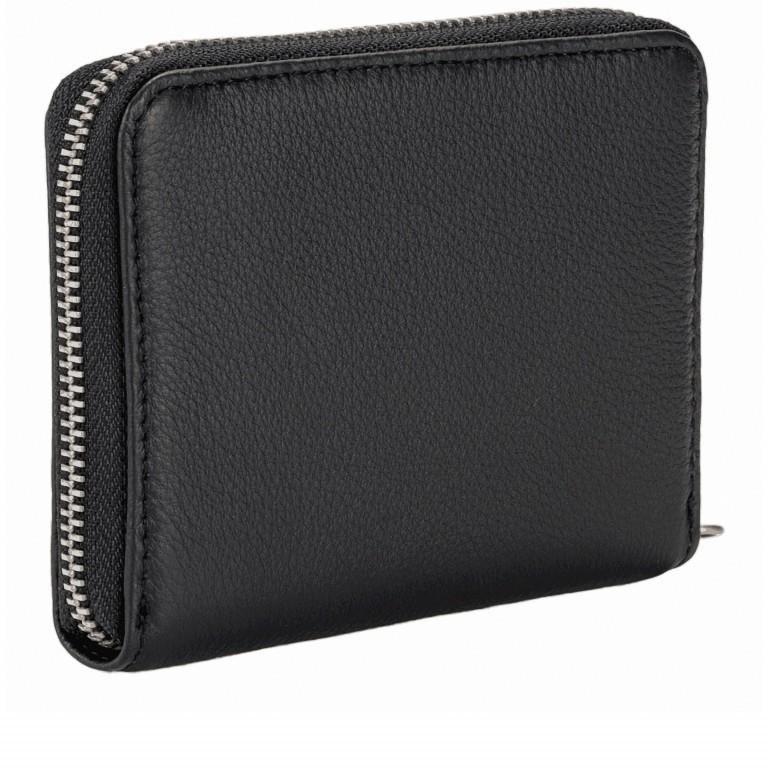 Geldbörse Basic Conny Black, Farbe: schwarz, Marke: Liebeskind Berlin, EAN: 4058629127109, Abmessungen in cm: 12.5x10.0x2.0, Bild 2 von 4