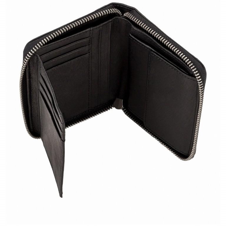 Geldbörse Basic Conny Black, Farbe: schwarz, Marke: Liebeskind Berlin, EAN: 4058629127109, Abmessungen in cm: 12.5x10.0x2.0, Bild 3 von 4