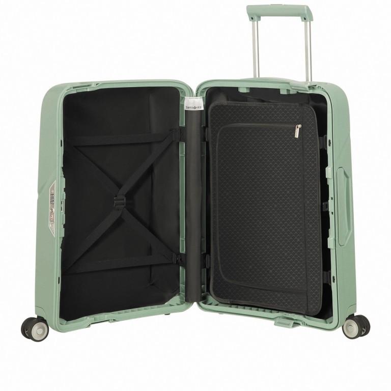 Koffer Magnum Spinner 55 Dusty Green, Farbe: grün/oliv, Marke: Samsonite, EAN: 5414847884573, Abmessungen in cm: 40.0x55.0x20.0, Bild 6 von 8