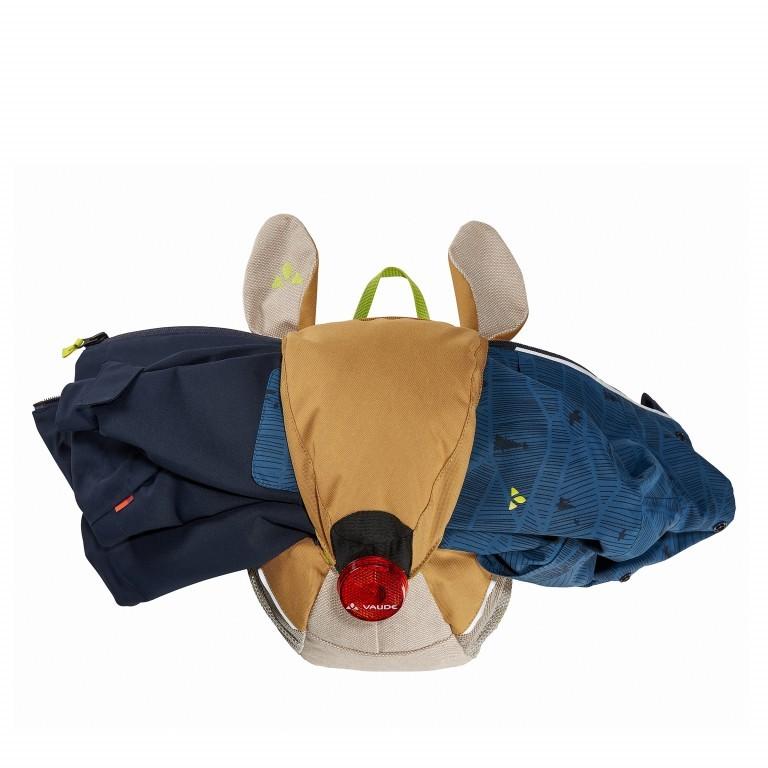 Kinderrucksack Family Stupsi Peanut Butter, Farbe: braun, Marke: Vaude, EAN: 4052285881443, Abmessungen in cm: 21.0x29.0x17.0, Bild 4 von 4