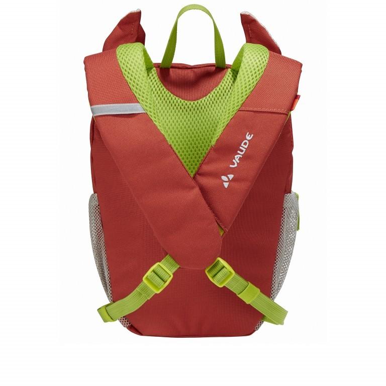Kinderrucksack Family Wusel Redwood, Farbe: rot/weinrot, Marke: Vaude, EAN: 4052285881467, Abmessungen in cm: 21.0x29.0x17.0, Bild 2 von 4