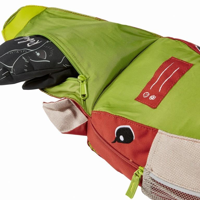 Kinderrucksack Family Wusel Redwood, Farbe: rot/weinrot, Marke: Vaude, EAN: 4052285881467, Abmessungen in cm: 21.0x29.0x17.0, Bild 3 von 4