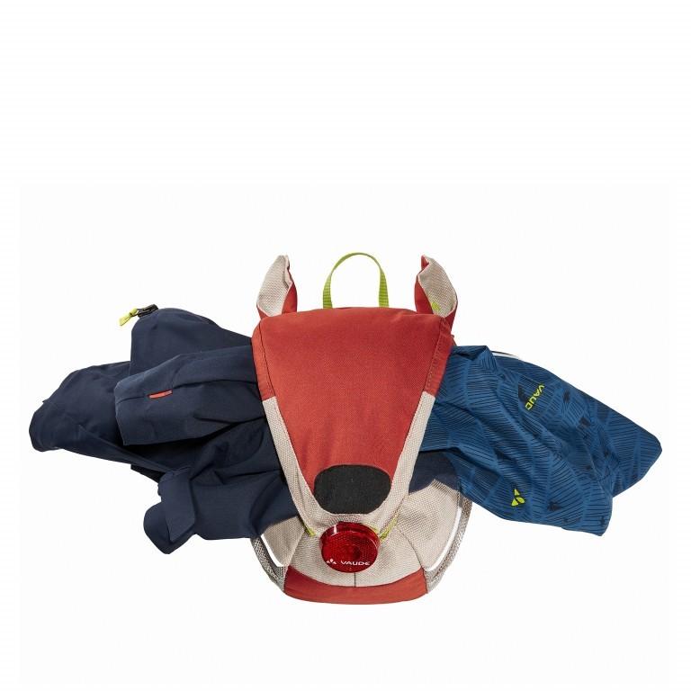 Kinderrucksack Family Wusel Redwood, Farbe: rot/weinrot, Marke: Vaude, EAN: 4052285881467, Abmessungen in cm: 21.0x29.0x17.0, Bild 4 von 4