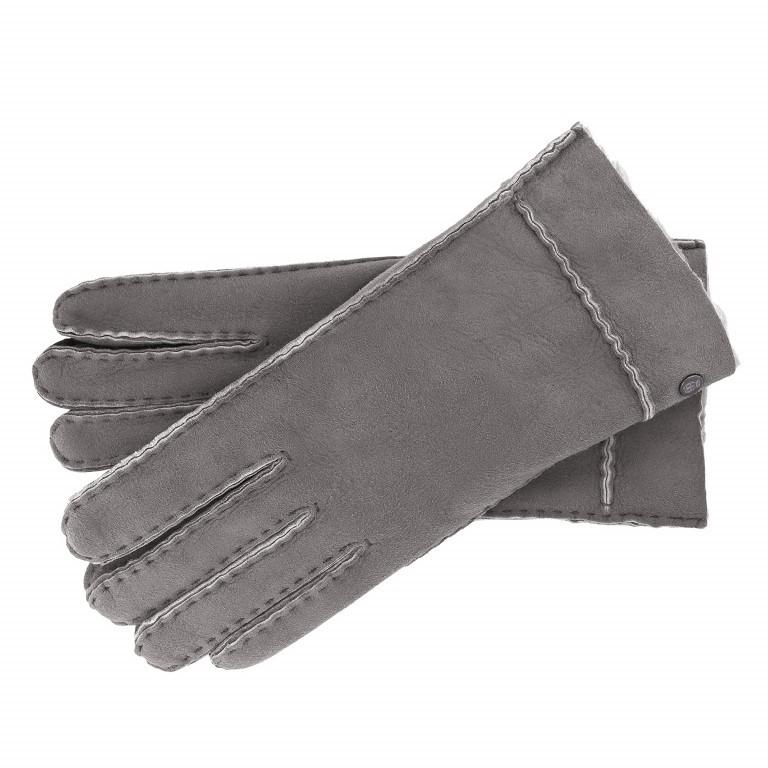 Handschuhe Damen Lammfell Größe 7 Stone, Farbe: grau, Marke: Roeckl, EAN: 4053071093712, Bild 1 von 1
