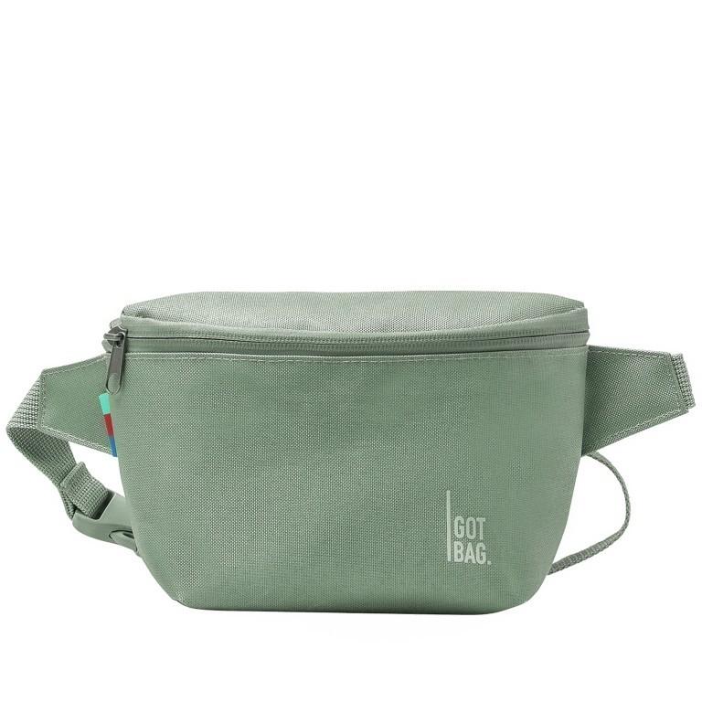 Gürteltasche Hip Bag, Farbe: schwarz, grau, taupe/khaki, grün/oliv, orange, beige, Marke: Got Bag, Abmessungen in cm: 17.0x14.0x7.5, Bild 1 von 5