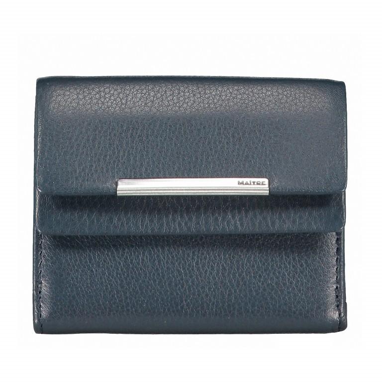 Geldbörse Belg Deda Blau, Farbe: blau/petrol, Marke: Maitre, EAN: 4053533758524, Abmessungen in cm: 10.0x8.0x1.5, Bild 1 von 3