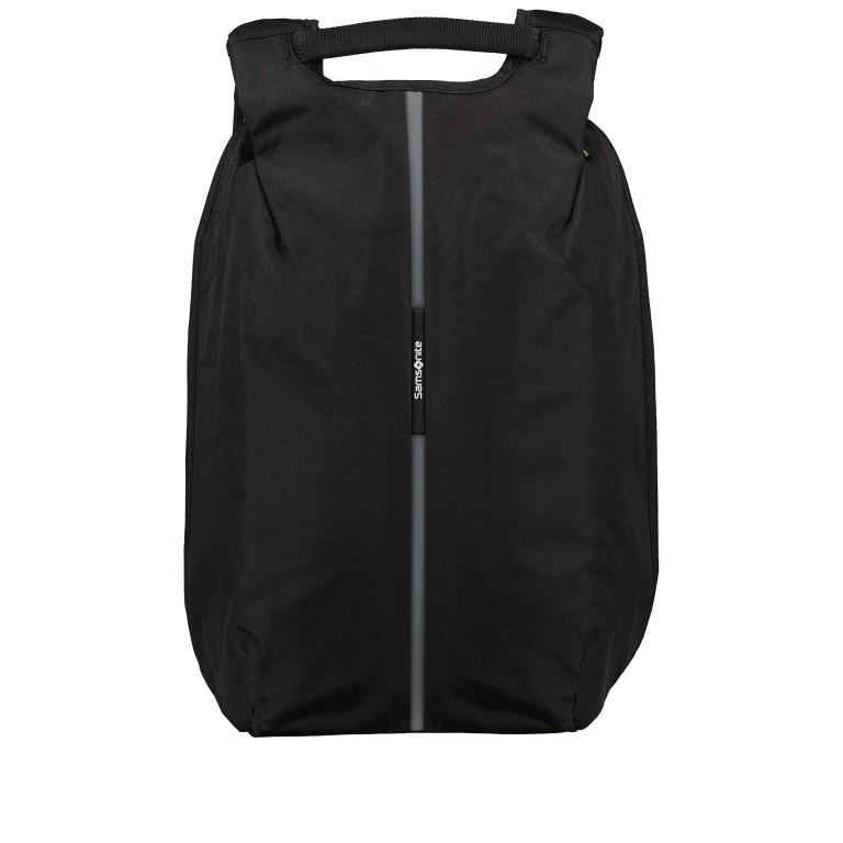 Rucksack Securipak Laptop Backpack 15.6 Zoll mit USB-Anschluss Black Steel, Farbe: schwarz, Marke: Samsonite, EAN: 5400520023094, Abmessungen in cm: 30.0x44.0x16.0, Bild 11 von 11
