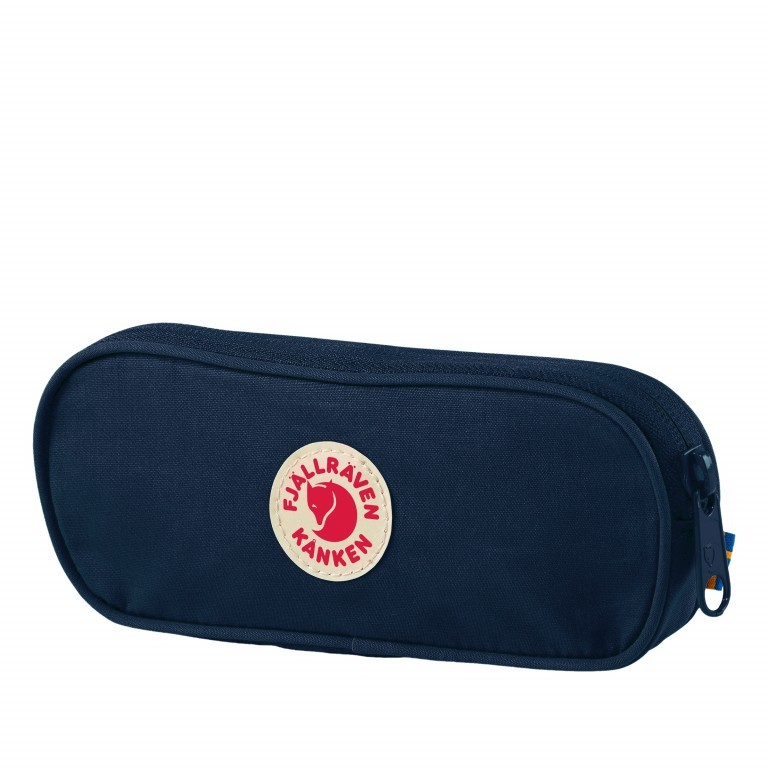 Schlampermäppchen Kånken Pen Case Navy, Farbe: blau/petrol, Marke: Fjällräven, EAN: 7323450464189, Abmessungen in cm: 19.0x7.0x2.0, Bild 1 von 1