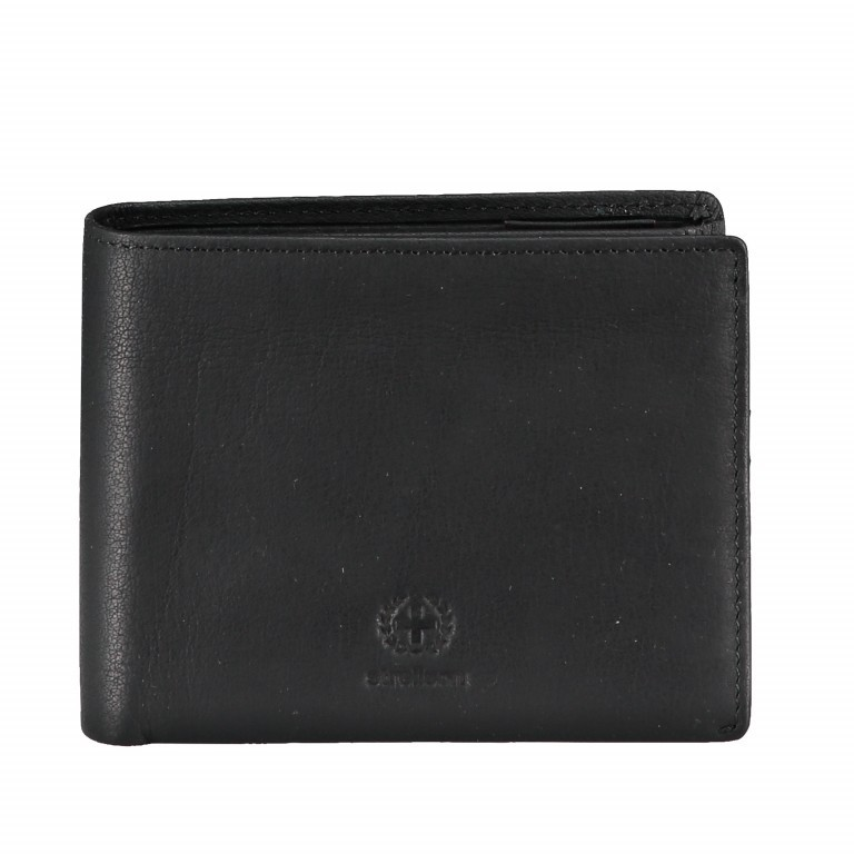 Geldbörse Blackwall Billfold H7 Black, Farbe: schwarz, Marke: Strellson, EAN: 4053533807307, Abmessungen in cm: 12.0x10.0x2.0, Bild 1 von 5