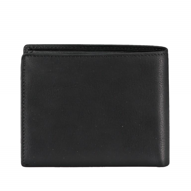 Geldbörse Blackwall Billfold H7 Black, Farbe: schwarz, Marke: Strellson, EAN: 4053533807307, Abmessungen in cm: 12.0x10.0x2.0, Bild 2 von 5