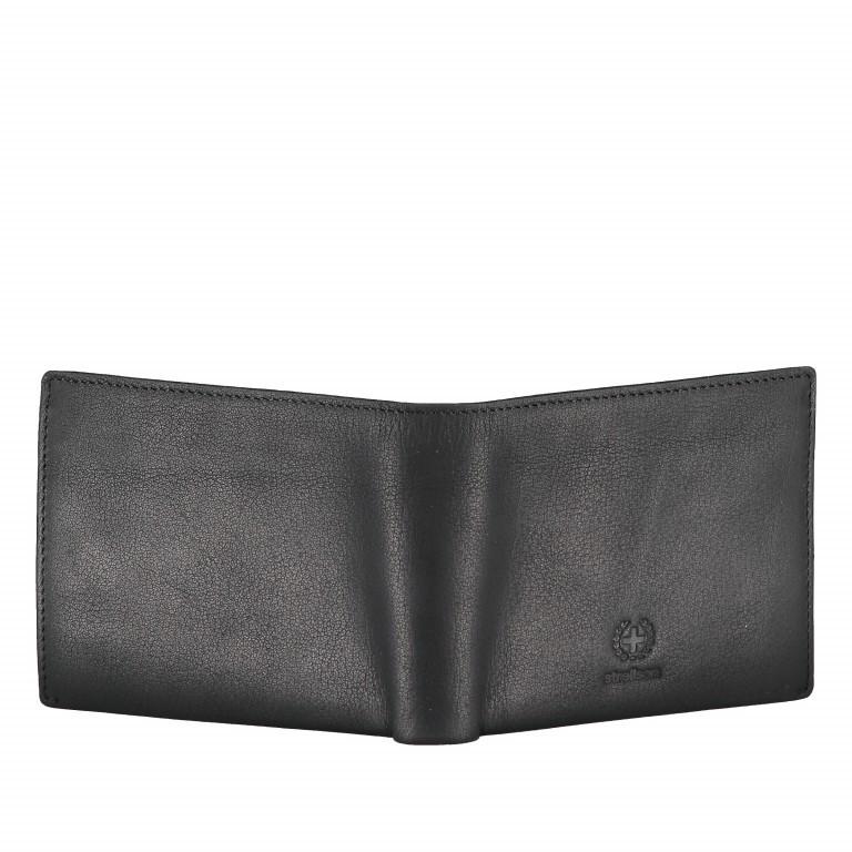 Geldbörse Blackwall Billfold H7 Black, Farbe: schwarz, Marke: Strellson, EAN: 4053533807307, Abmessungen in cm: 12.0x10.0x2.0, Bild 3 von 5