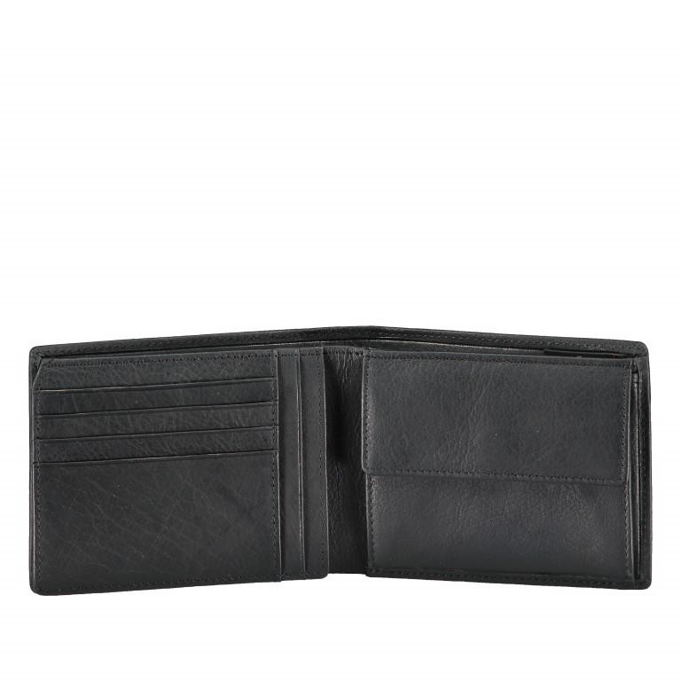 Geldbörse Blackwall Billfold H7 Black, Farbe: schwarz, Marke: Strellson, EAN: 4053533807307, Abmessungen in cm: 12.0x10.0x2.0, Bild 4 von 5
