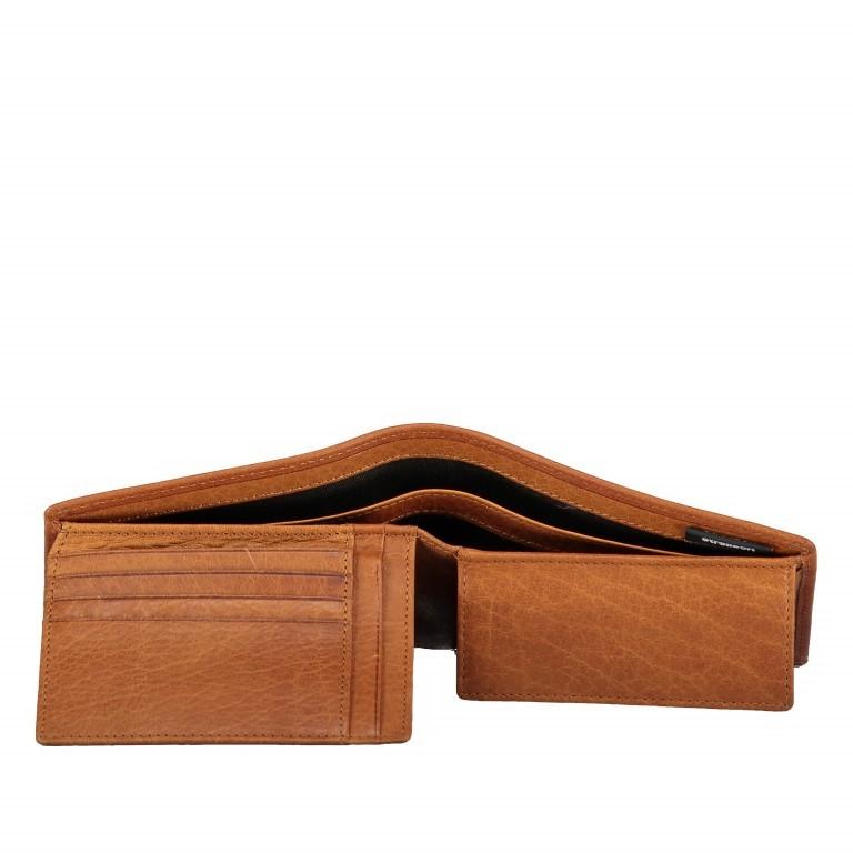 Geldbörse Blackwall Billfold H7 Cognac, Farbe: cognac, Marke: Strellson, EAN: 4053533807291, Abmessungen in cm: 12.0x10.0x2.0, Bild 5 von 6