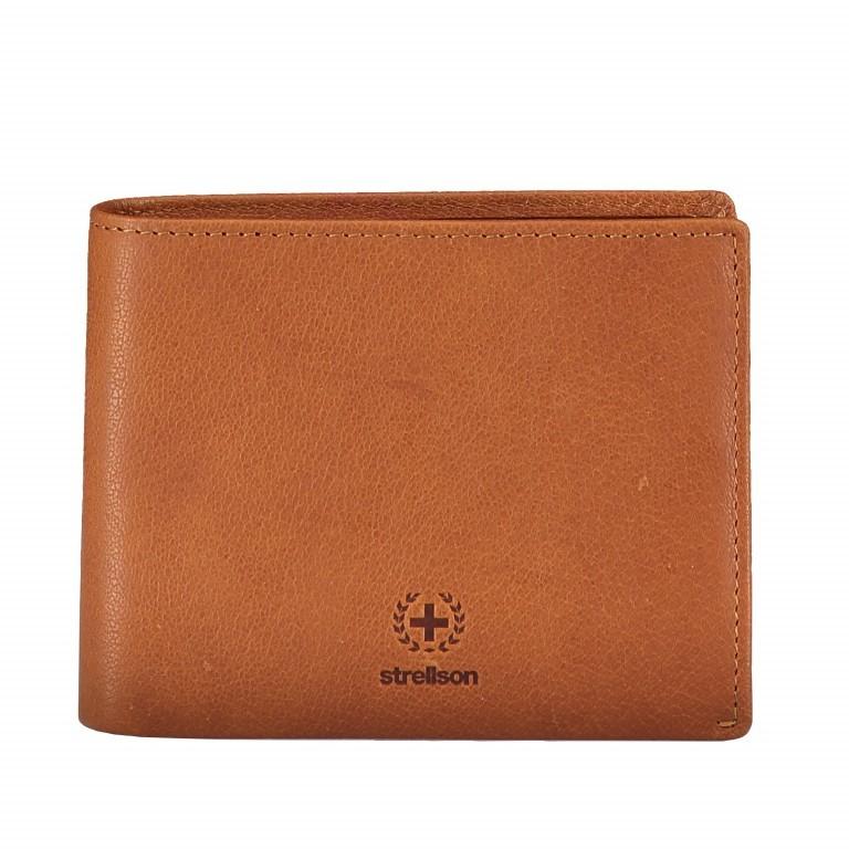 Geldbörse Blackwall Billfold H7 Cognac, Farbe: cognac, Marke: Strellson, EAN: 4053533807291, Abmessungen in cm: 12.0x10.0x2.0, Bild 1 von 6