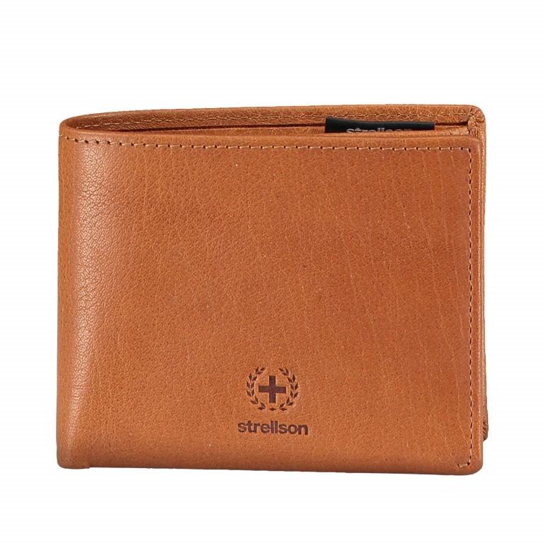 Geldbörse Blackwall Billfold H8 Cognac, Farbe: cognac, Marke: Strellson, EAN: 4053533807338, Abmessungen in cm: 11.0x8.5x2.0, Bild 1 von 5