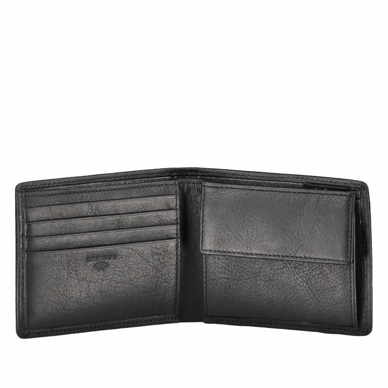 Geldbörse Blackwall Billfold H8 Black, Farbe: schwarz, Marke: Strellson, EAN: 4053533807345, Abmessungen in cm: 11.0x8.5x2.0, Bild 4 von 5