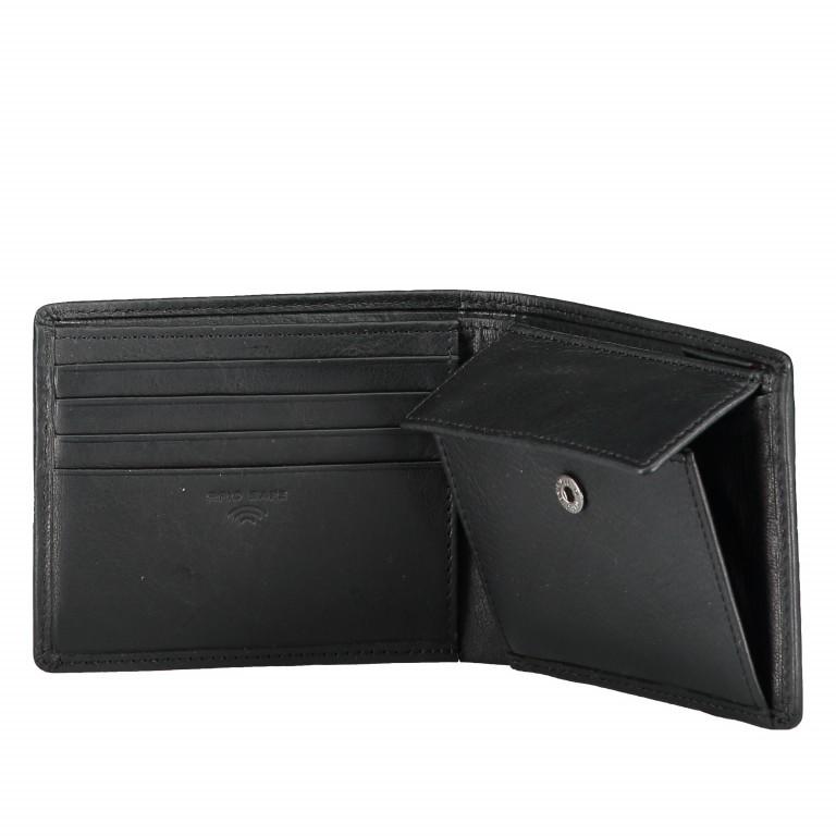 Geldbörse Blackwall Billfold H8 Black, Farbe: schwarz, Marke: Strellson, EAN: 4053533807345, Abmessungen in cm: 11.0x8.5x2.0, Bild 5 von 5