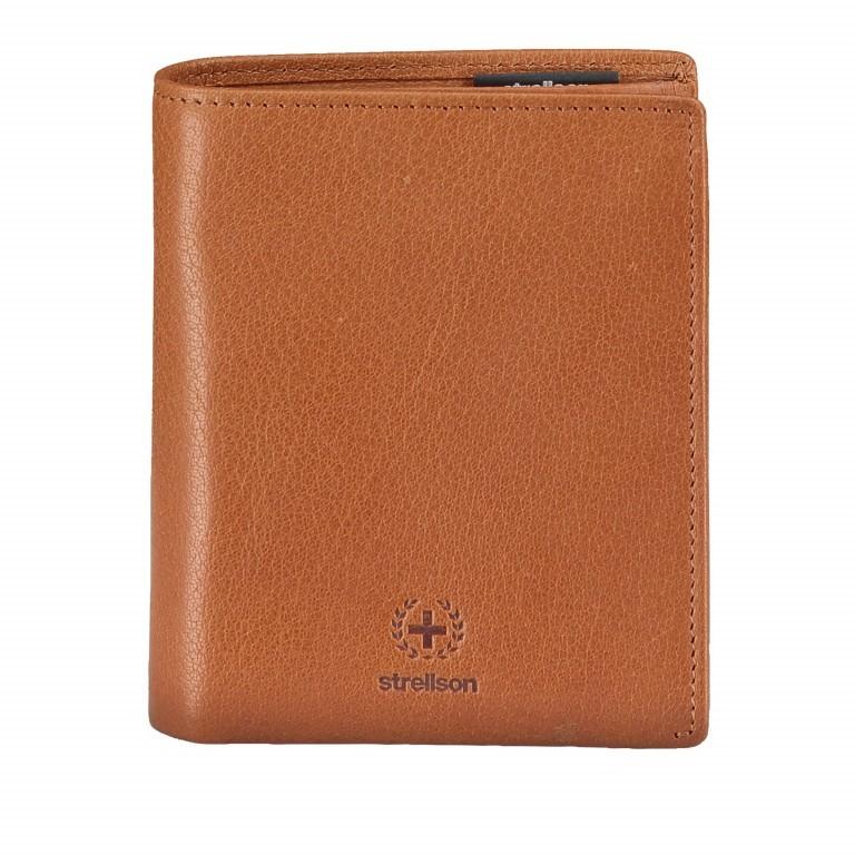 Geldbörse Blackwall Billfold V8 Cognac, Farbe: cognac, Marke: Strellson, EAN: 4053533807376, Abmessungen in cm: 10.0x12.0x2.0, Bild 1 von 5