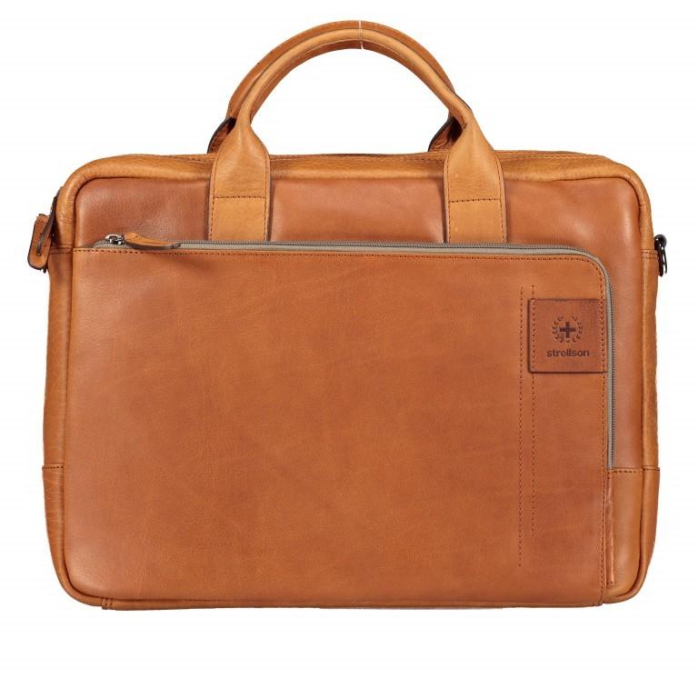 Aktentasche Hyde Park Briefbag SHZ Cognac, Farbe: cognac, Marke: Strellson, EAN: 4053533807741, Abmessungen in cm: 40.0x30.0x10.0, Bild 1 von 13