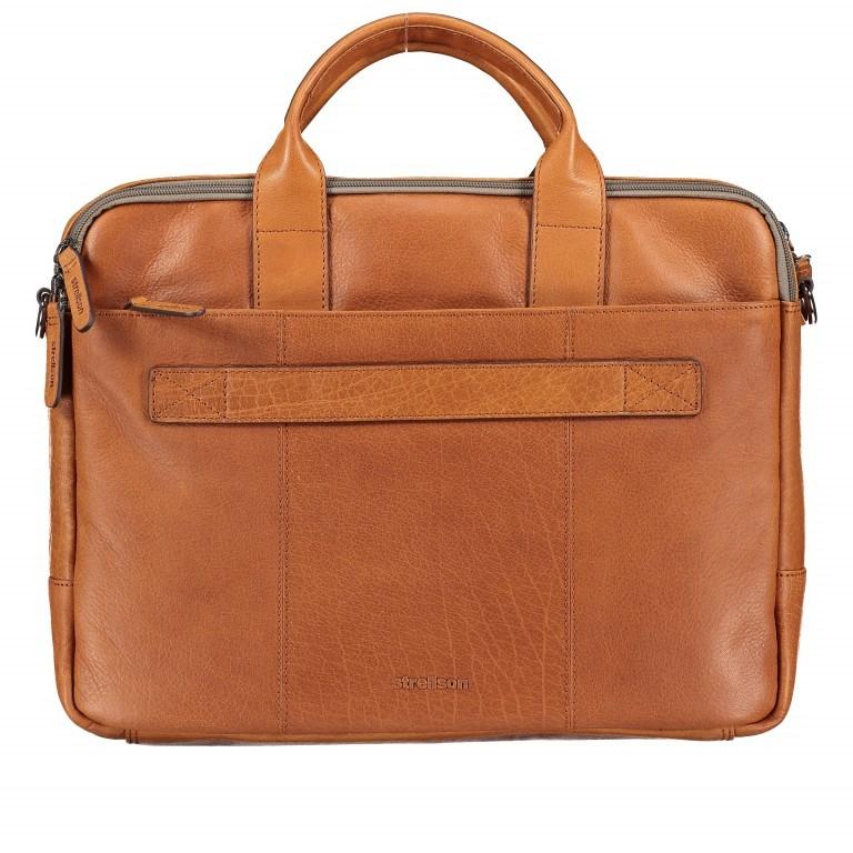 Aktentasche Hyde Park Briefbag SHZ Cognac, Farbe: cognac, Marke: Strellson, EAN: 4053533807741, Abmessungen in cm: 40.0x30.0x10.0, Bild 3 von 13