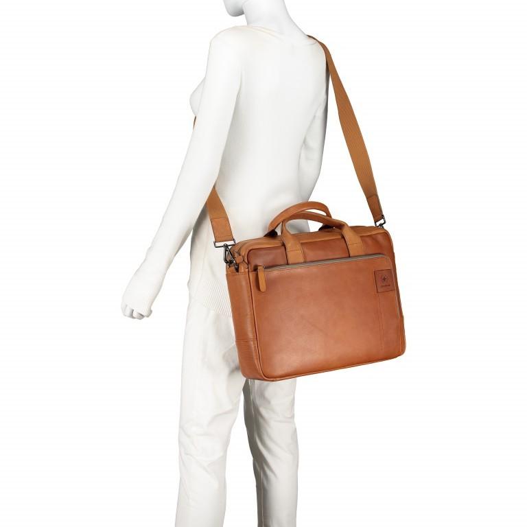 Aktentasche Hyde Park Briefbag SHZ Cognac, Farbe: cognac, Marke: Strellson, EAN: 4053533807741, Abmessungen in cm: 40.0x30.0x10.0, Bild 5 von 13