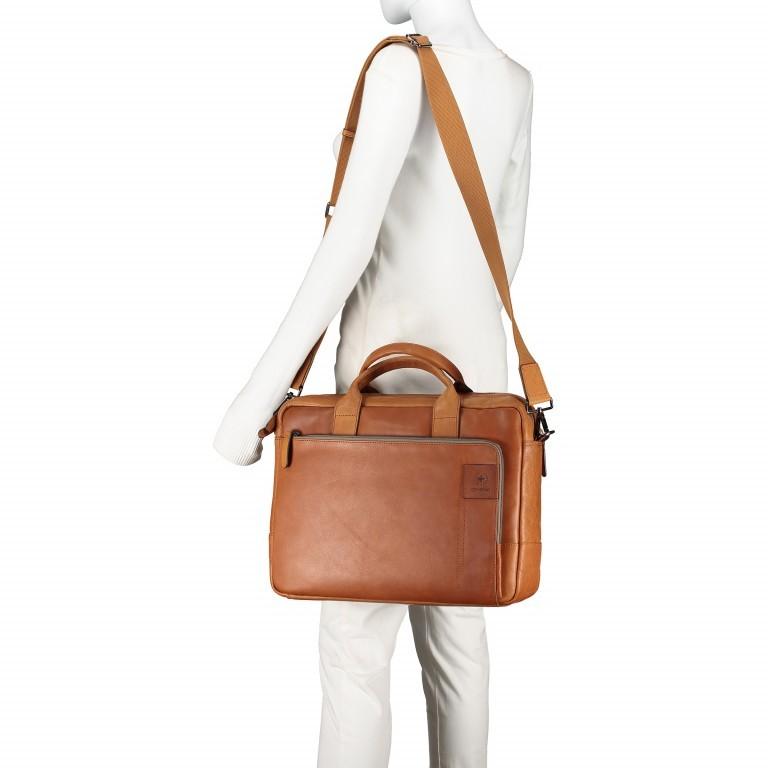 Aktentasche Hyde Park Briefbag SHZ Cognac, Farbe: cognac, Marke: Strellson, EAN: 4053533807741, Abmessungen in cm: 40.0x30.0x10.0, Bild 6 von 13
