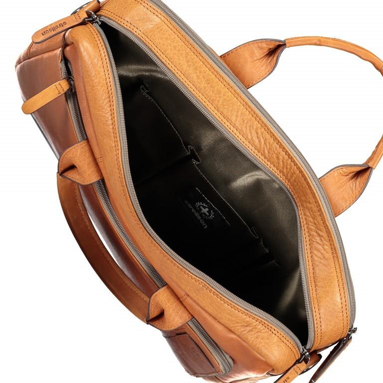 Aktentasche Hyde Park Briefbag SHZ Cognac, Farbe: cognac, Marke: Strellson, EAN: 4053533807741, Abmessungen in cm: 40.0x30.0x10.0, Bild 7 von 13