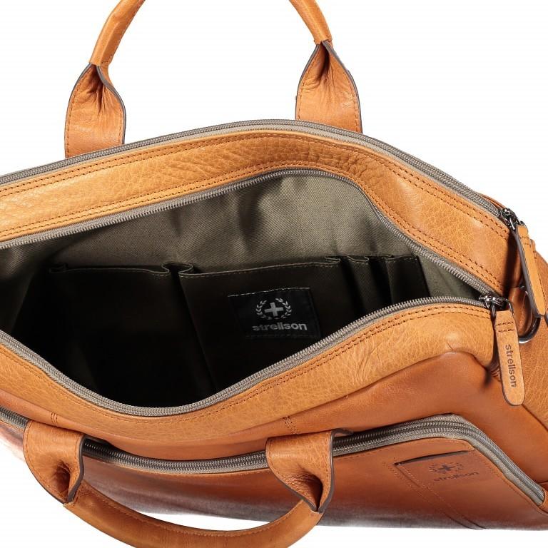 Aktentasche Hyde Park Briefbag SHZ Cognac, Farbe: cognac, Marke: Strellson, EAN: 4053533807741, Abmessungen in cm: 40.0x30.0x10.0, Bild 8 von 13