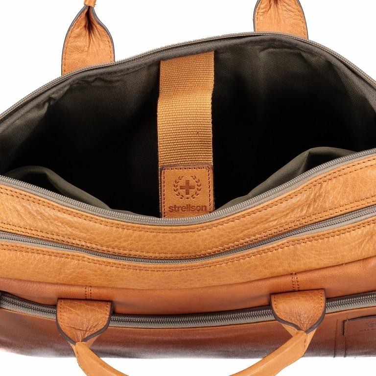 Aktentasche Hyde Park Briefbag SHZ Cognac, Farbe: cognac, Marke: Strellson, EAN: 4053533807741, Abmessungen in cm: 40.0x30.0x10.0, Bild 9 von 13