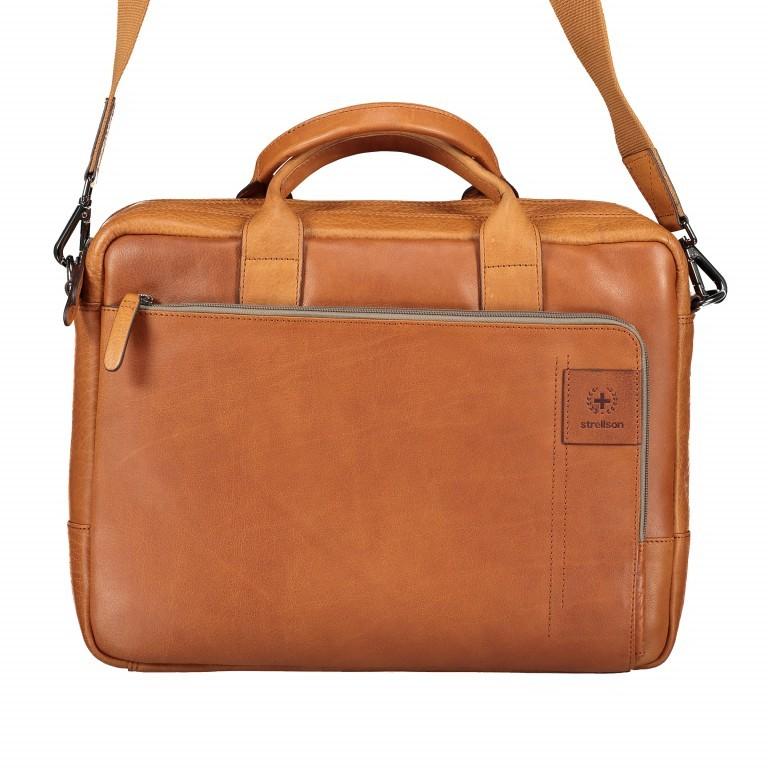 Aktentasche Hyde Park Briefbag SHZ Cognac, Farbe: cognac, Marke: Strellson, EAN: 4053533807741, Abmessungen in cm: 40.0x30.0x10.0, Bild 11 von 13